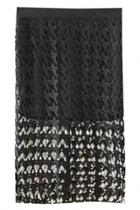 Oasap Corchet Lace Pencil Skirt
