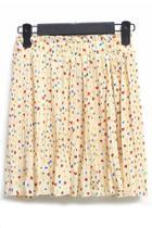 Oasap Sweetheart Chiffon Skirt