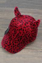 Oasap Leopard Cat Ear Cap