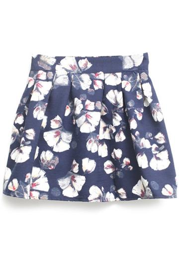 Oasap Cute Floral Skirt
