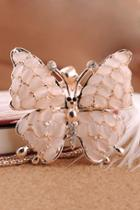 Oasap Butterfly Pendant Necklace