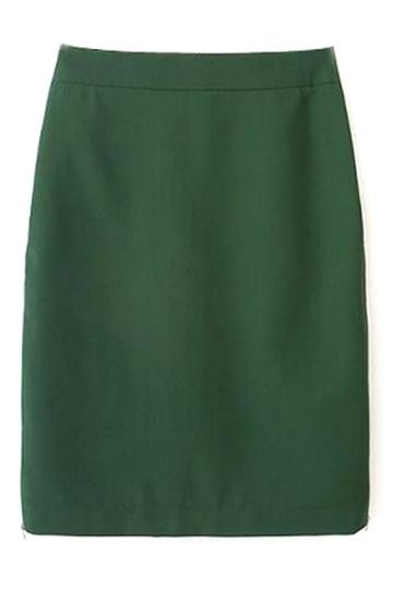 Oasap Zippered Sheath Skirt