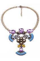 Oasap Antique Bib Necklace