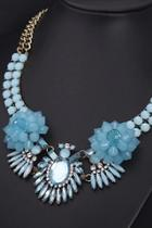 Oasap Luxe Moment Bib Necklace