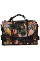 Oasap Chic Floral Printing Shoulder Bag