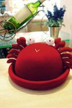 Oasap Lovely Crab Bowler Hat