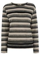 Oasis Fringed Stripe Sweater