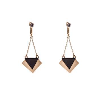 Oasis Resin Deco Drop Earrings