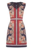 Oasis Paisley Embroidered Dress