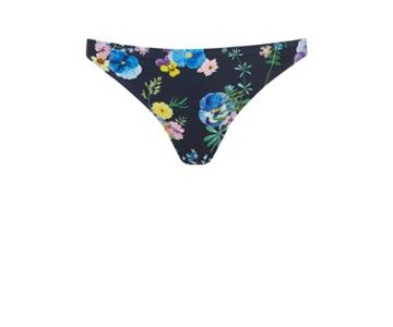 Oasis Flower Press Bikini Bottom