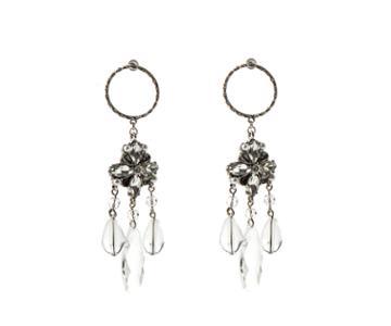 Oasis Clear Resin Earrings