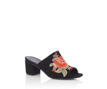 Oasis Hannah Embroidered Mule