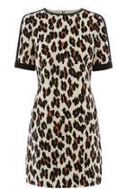 Oasis Lulu Leopard Shift Dress