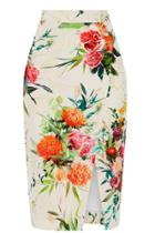 Oasis Floral Pencil Skirt