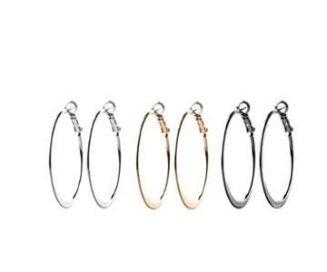 Oasis Hoop Pack Earrings
