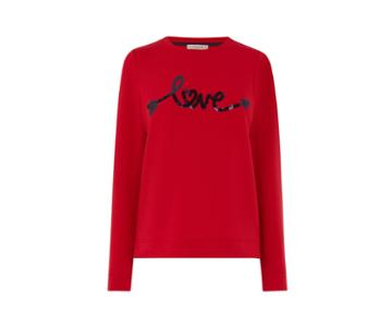 Oasis Sequin Love Sweater