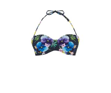Oasis Flower Press Bikini Top