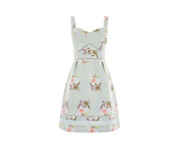 Oasis Spring Jacquard Dress