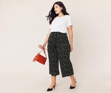 Oasis Curve Lois Wide Trousers