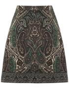 Oasis Paisley Jacquard Skirt