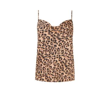 Oasis Animal Cowl Cami Top