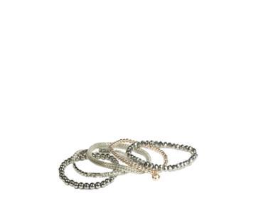 Oasis 5pk Beaded Bracelet