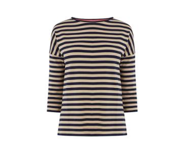 Oasis Super Soft Stripe Top