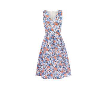Oasis Long Organza Marais Dress