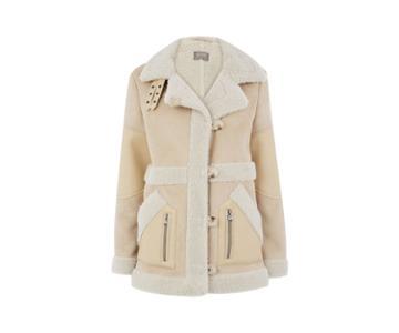 Oasis Faux Shearling Coat
