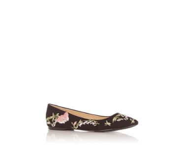 Oasis Rose Embroidered Flat Point