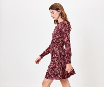 Oasis Paisley Skater Dress