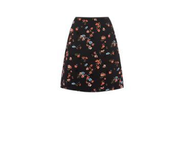 Oasis Rossetti Floral Mini Skirt