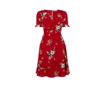 Oasis Havana Floral Tea Dress