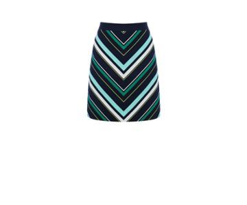 Oasis Stripe Mini Skirt