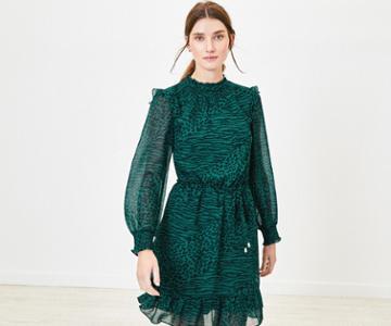 Oasis Mixed Animal Print Dress