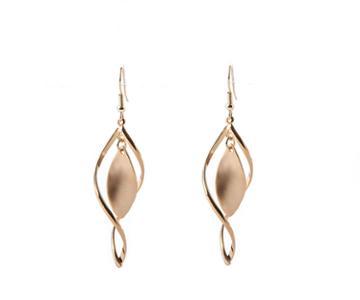 Oasis Sleek Twist Open Earrings