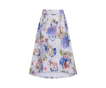 Oasis Dip Hem Midi Skirt