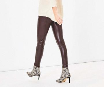 Oasis Faux Leather Leggings