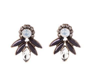Oasis Pretty Fan Stud Earrings