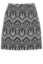 Oasis Aztec Marley Mini Skirt