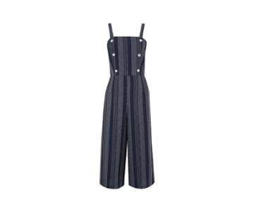 Oasis Stripe Button Jumpsuit