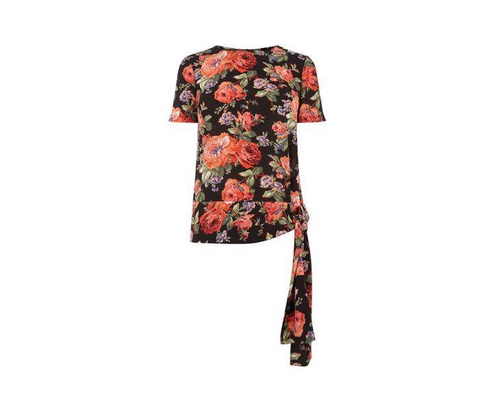 Oasis Rose Tie Tshirt