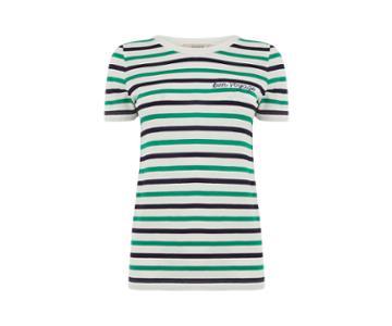 Oasis Bon Voyage Stripe Tee