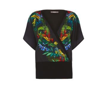 Oasis Tropical Bird Wrap Front