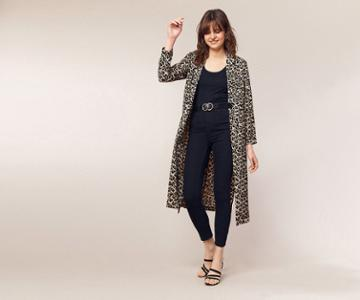 Oasis Animal Duster Coat