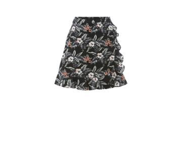 Oasis Tropical Ruffle Skirt