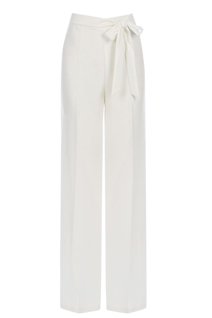 Oasis White Wideleg Trouser