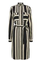 Oasis Stripe Shirt Dress Longer