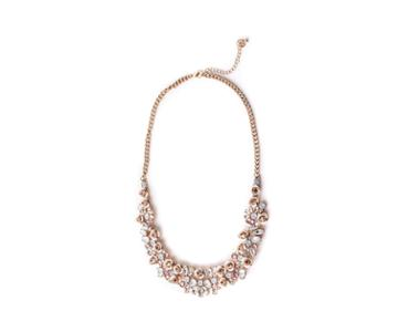 Oasis Floral Statement Necklace