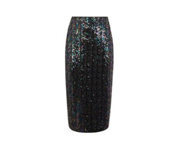 Oasis Sequin Pencil Skirt